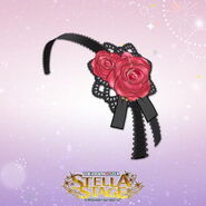THE iDOLM@STER Stella Stage DLC Saint Rose Accessory