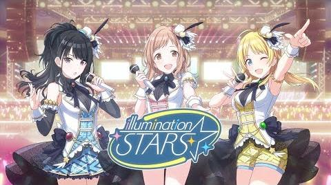 "Smartphone and Browser Game ""THE iDOLM@STER Shiny Colors"" illumination STARS Unit PV"