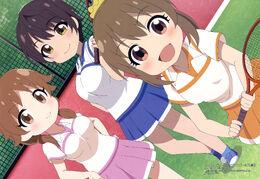 Cinderella Girls Gekijou CLIMAX SEASON Poster - Yuko, Sanae, Shizuku