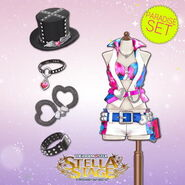 THE iDOLM@STER Stella Stage DLC Paradise Set