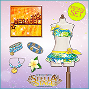 THE iDOLM@STER Stella Stage DLC MEGARE Set