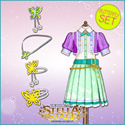 THE iDOLM@STER Stella Stage DLC Butterfly Set