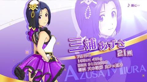 THE iDOLM@STER Stella Stage Idol Introduction ~Azusa Miura~ PV