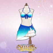 THE iDOLM@STER Stella Stage DLC Seabloom Curtain Costume
