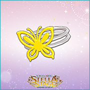THE iDOLM@STER Stella Stage DLC Yellow Butterfly Accessory