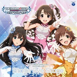 THE IDOLM@STER CINDERELLA GIRLS CG STAR LIVE Stage bye Stage Cover