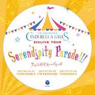 THE IDOLM@STER CINDERELLA GIRLS 5thLIVE TOUR Serendipity Parade!!! -Shizuoka, Makuhari, and Fukuoka Venue Original CD-