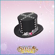 THE iDOLM@STER Stella Stage DLC Fallen Angel's Hat Accessory
