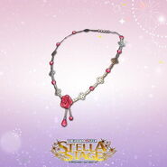 THE iDOLM@STER Stella Stage DLC Garnet Rose Accessory