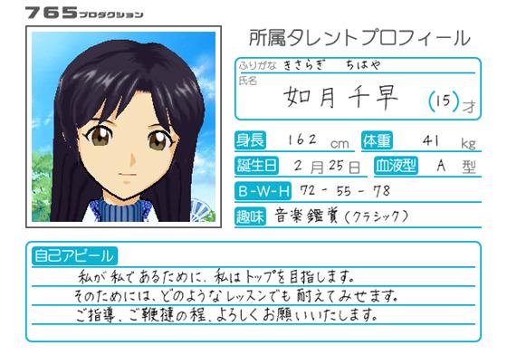File:Chihaya Kisaragi Arcade Profile.png