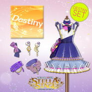 THE iDOLM@STER Stella Stage DLC Destiny Set