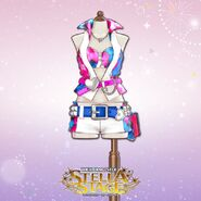 THE iDOLM@STER Stella Stage DLC Everyday Vacation Costume