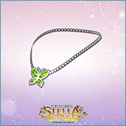 THE iDOLM@STER Stella Stage DLC Butterfly Pendant Accessory