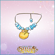 THE iDOLM@STER Stella Stage DLC Seaside Seashell Accessory