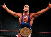 Kurt Angle as NWA World Champion