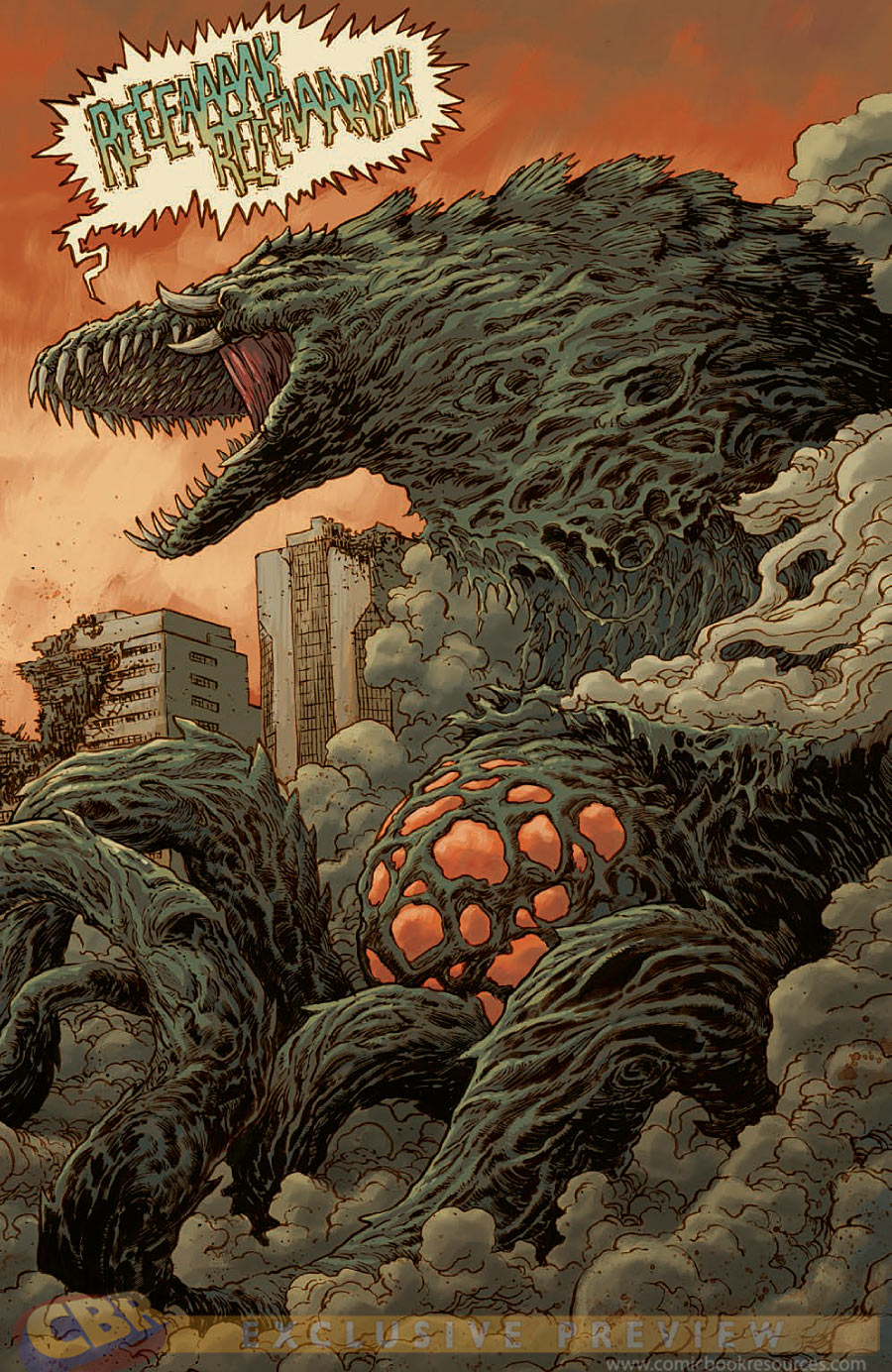 Biollante Idw Godzilla Wiki Fandom Powered By Wikia