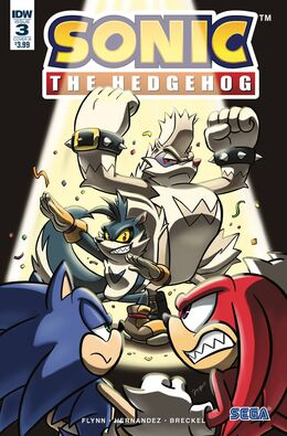 Sonic 3 Cover B