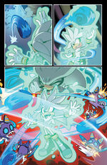 Silver and Sonic Attack