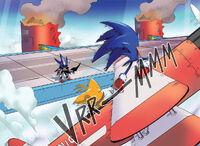 Tornado saves Sonic