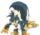 Rough the Skunk