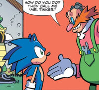 Sonic Meets Mr Tinker