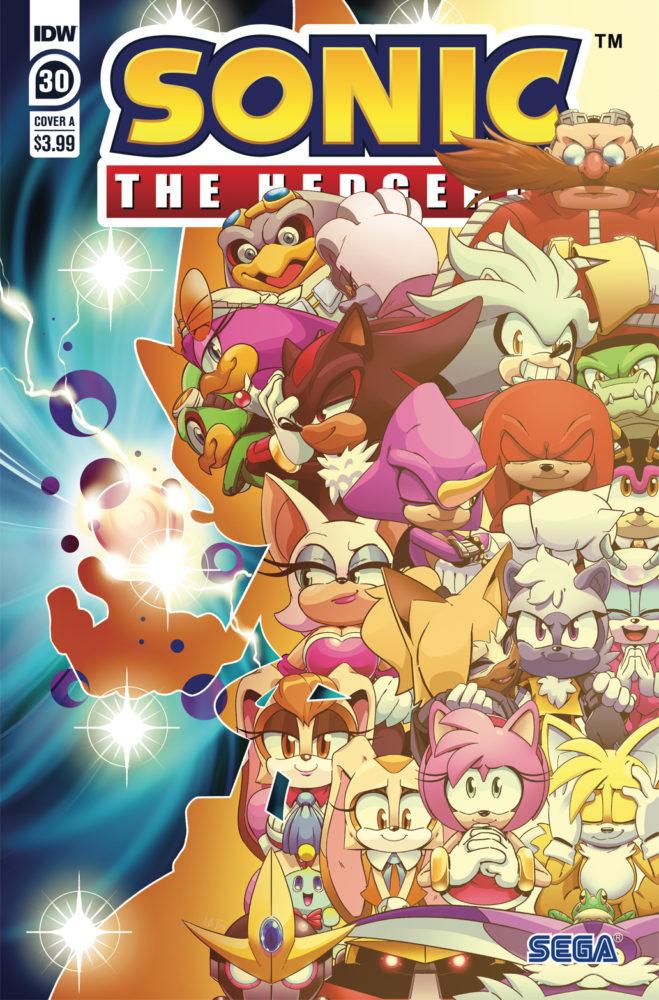 Idw Sonic The Hedgehog Issue 30 Idw Sonic Hub Fandom