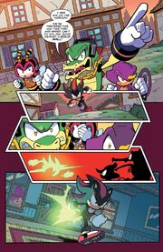 Chaotix fail to stop Shadow