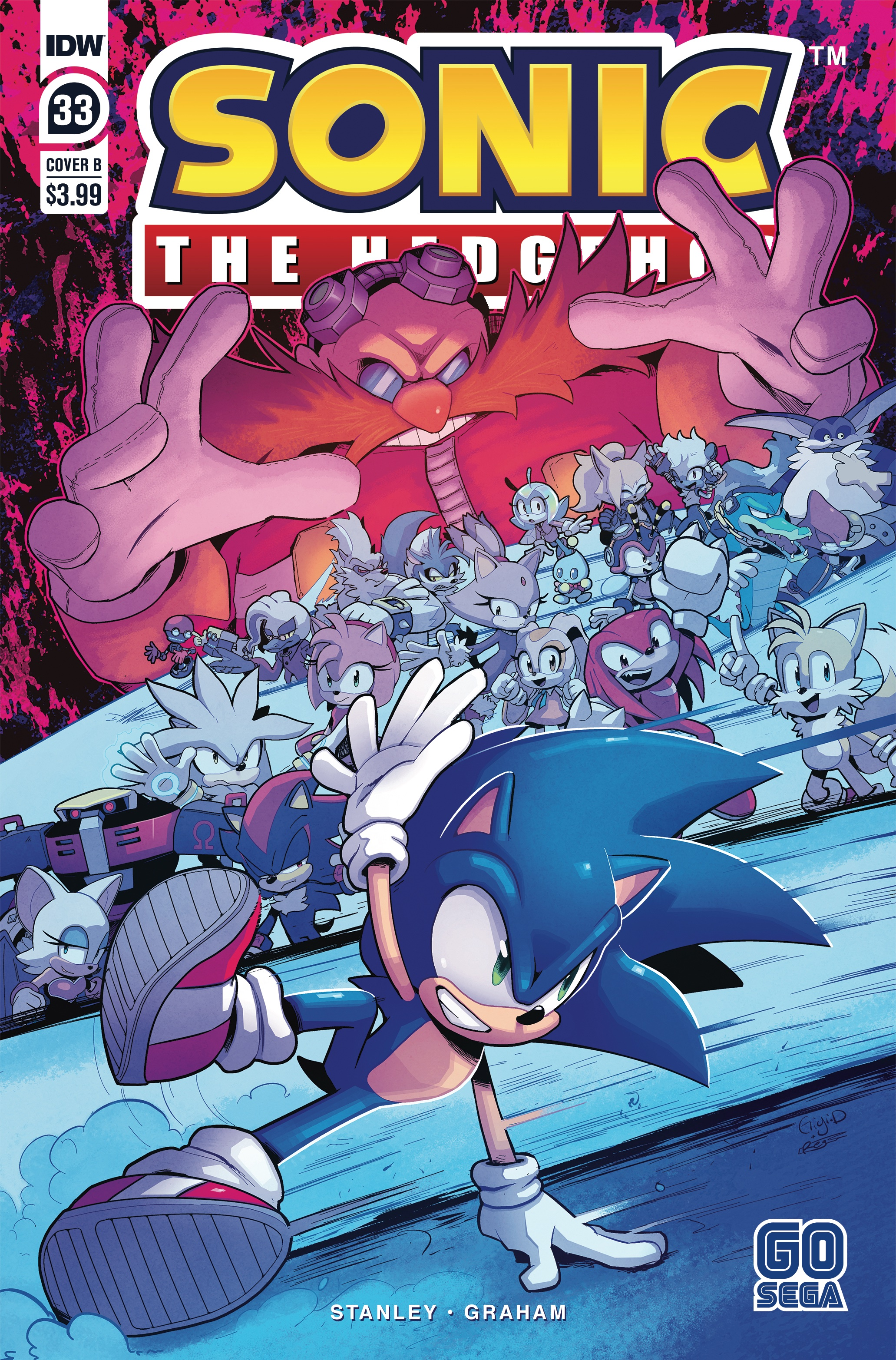 Idw Sonic The Hedgehog Issue 33 Idw Sonic Hub Fandom