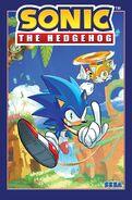 Sonic volume 1 with border
