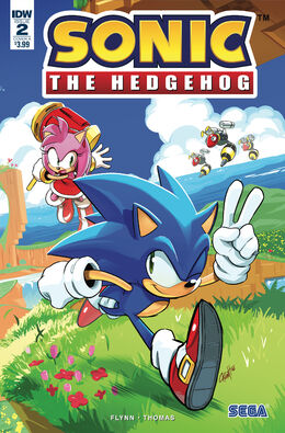 Sonic Issue 2 Cover