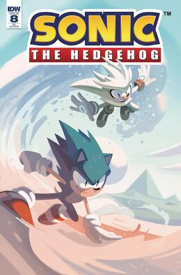 Idw sonic 8 cover