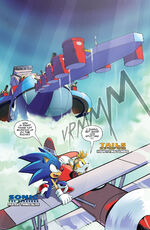 Sonic and Tails discover Egg Fleet