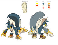 Rough the Skunk Design