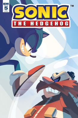 IDW Sonic Issue 5 Nathalie