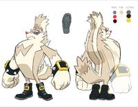 Tumble the Skunk Design