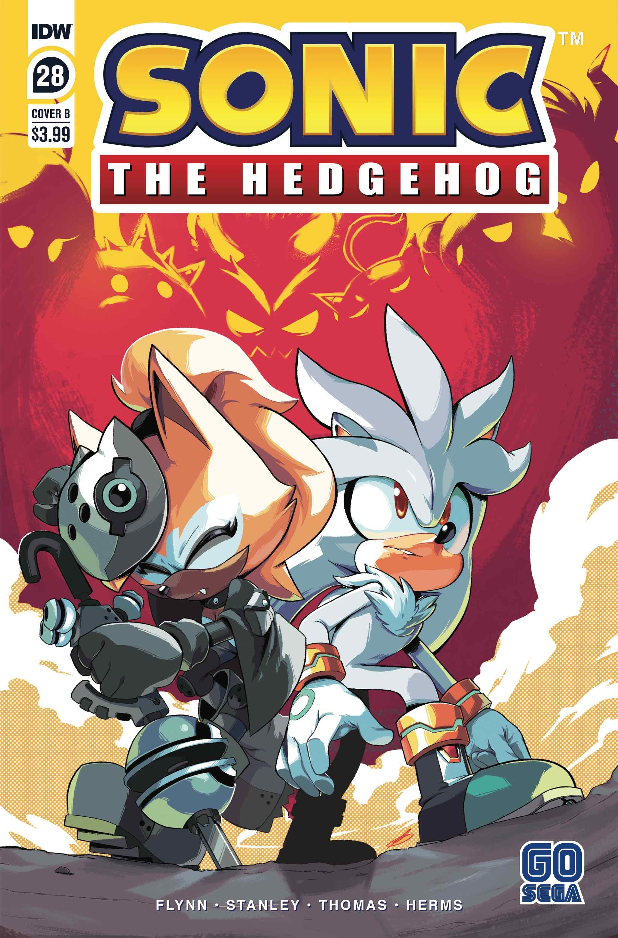 Idw Sonic The Hedgehog Issue 28 Idw Sonic Hub Fandom