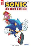 IDW Sonic 2 2nd print