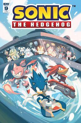 Sonic 9 Cover RI