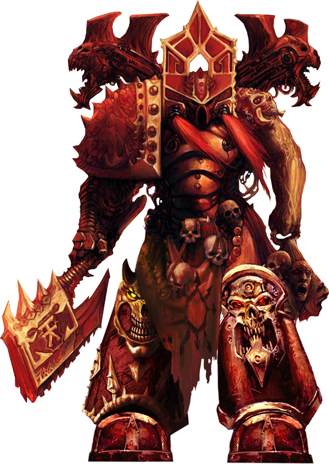 Kharn the Betrayer | If The Emperor Had a Text-To-Speech