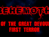 BEHEMOTH Trilogy