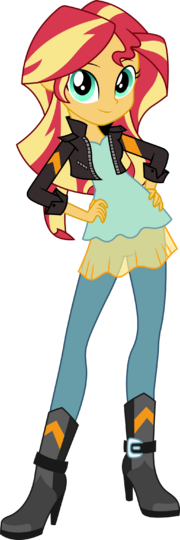 Sunset shimmer friendship games official vector by icantunloveyou-d9oyg8k