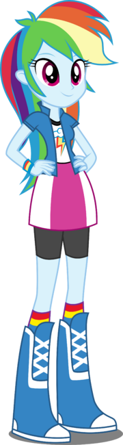 Eqg rainbow dash by xebck-d9bwdm8