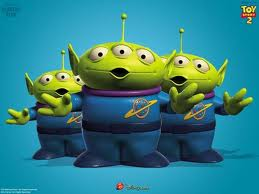 Alien Squeky Toys