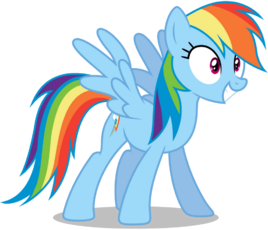 Mlp rainbow dash vector 2 by mlpvectors203-d91bkor
