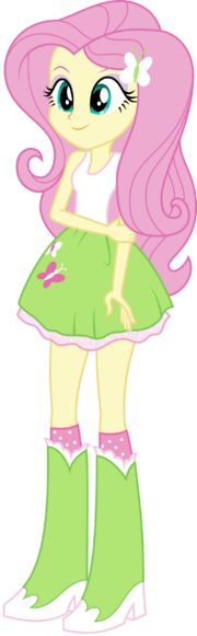 Mlp eqg fluttershy by mewtwo ex-d7agept