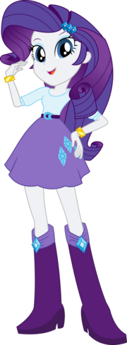Equestria girls rarity vector by icantunloveyou-d9oly69