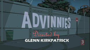 Advinnies episode title card