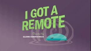 I got a remote episode title card