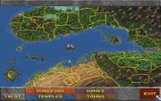 Карта места действия The Elder Scrolls 2 - Daggerfall