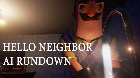 Hello Neighbor-Искусственный интеллект в HN